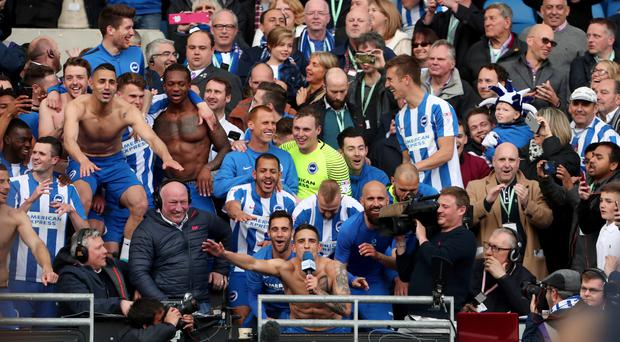 Brighton are set for a windfall