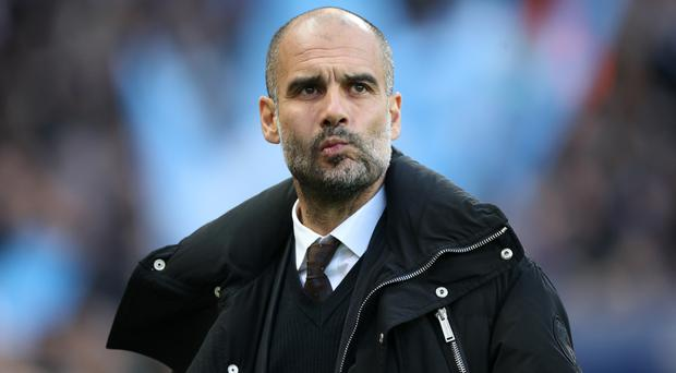 Pep Guardiola's Manchester City side face Leicester on Saturday