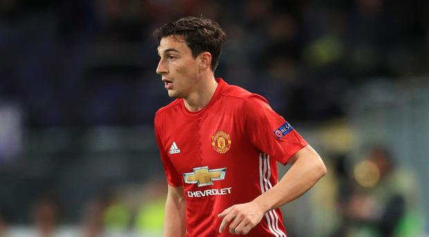 Matteo Darmian helped Manchester United into the Europa League final on Thursday night