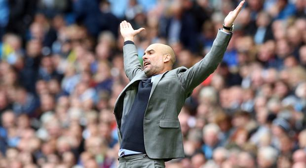 Pep Guardiola's Manchester City are third in the Premier League