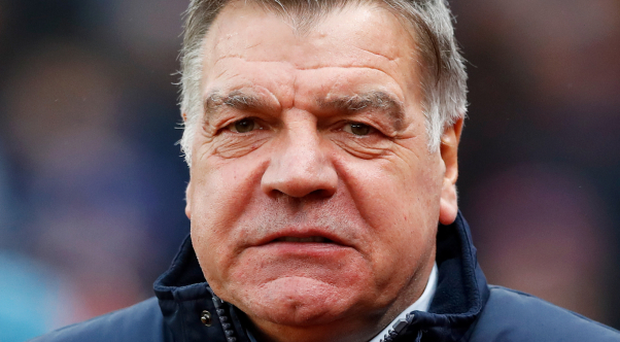Sam Allardyce's Crystal Palace will ensure survival if they avoid defeat against Hull today. Photo: PA News