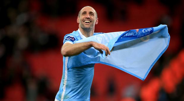Pablo Zabaleta will leave Manchester City this summer