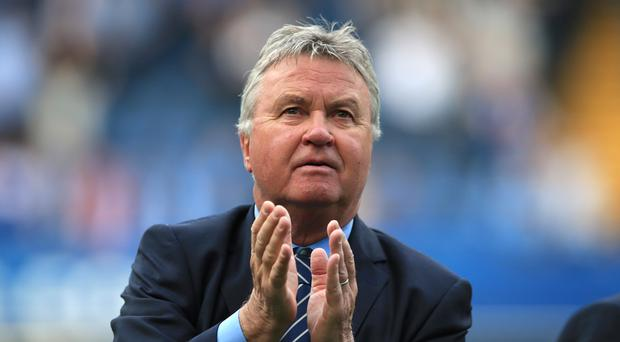 Guus Hiddink, pictured, reckons Antonio Conte has