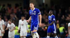 John Terry opened the scoring for Chelsea