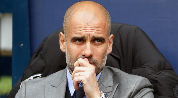 Pep Guardiola's Manchester City are fourth in the table