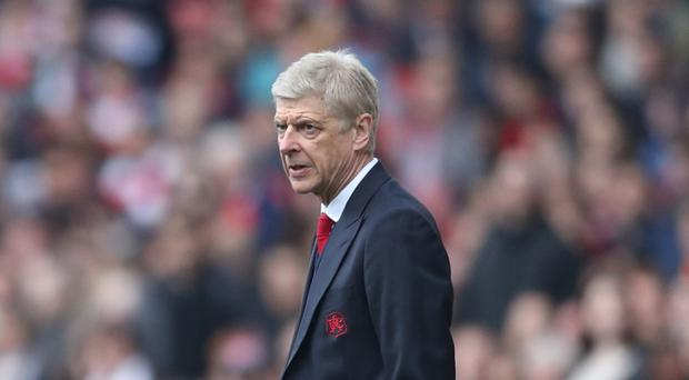 Arsene Wenger has never finished outside of the top four in a full season as Arsenal boss
