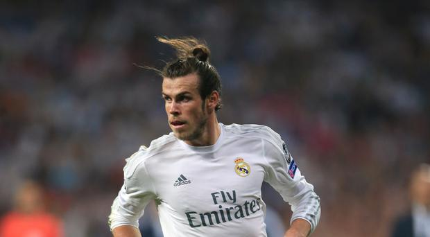 Bale happy at Real