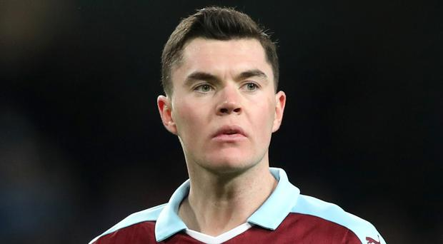 Burnley's Michael Keane has been linked with Manchester United