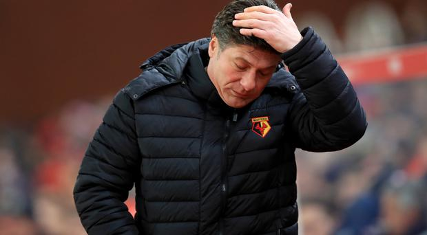 Walter Mazzarri will take charge of his final game in charge of Watford this weekend