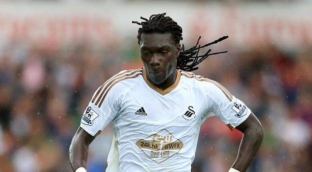 Swansea striker Bafetimbi Gomis has spent the season on loan at Ligue 1 club Marseille