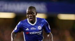 Chelsea's N'Golo Kante has now won successive Premier League titles with different clubs