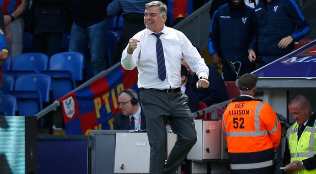 Crystal Palace manager Sam Allardyce will try to get his players up for the trip to Old Trafford