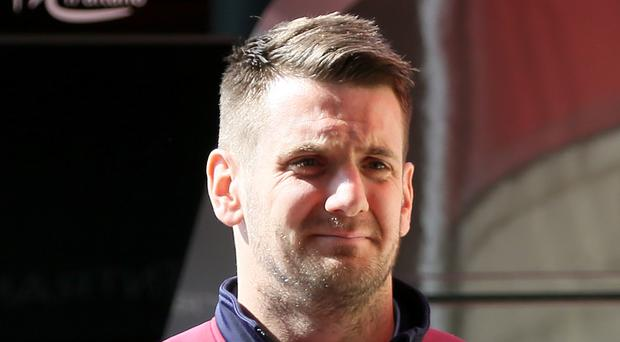 Burnley keeper Tom Heaton says he is happy to stay at Turf Moor