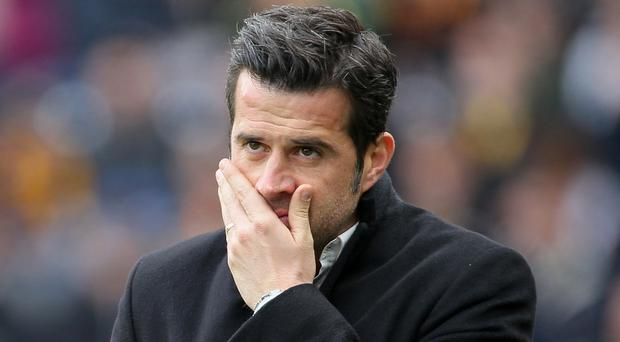 Marco Silva was unable to keep Hull in the Premier League