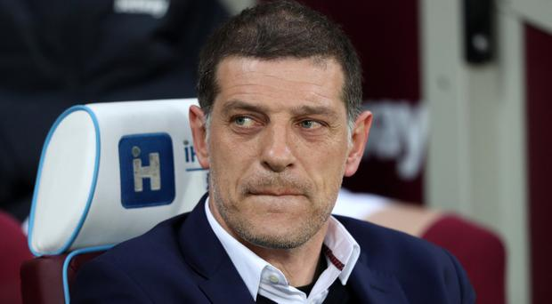 West Ham manager Slaven Bilic is relieved that this season is coming to an end