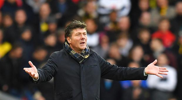 Departing Watford manager Mazzarri blames injuries for Man City thumping