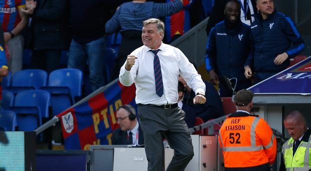 Crystal Palace manager Sam Allardyce is wary of increasing expectations surrounding his team