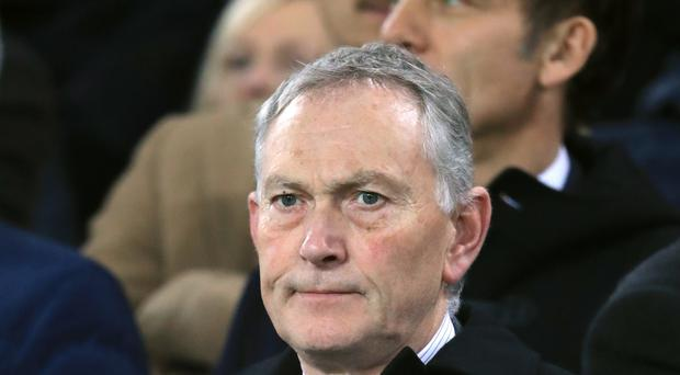 Premier League executive chairman Richard Scudamore says his organisation runs stringent checks on prospective club owners