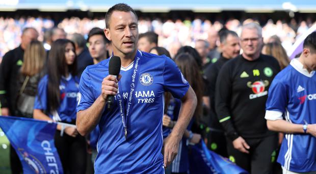 Chelsea defender John Terry made his final Stamford Bridge appearance for the club