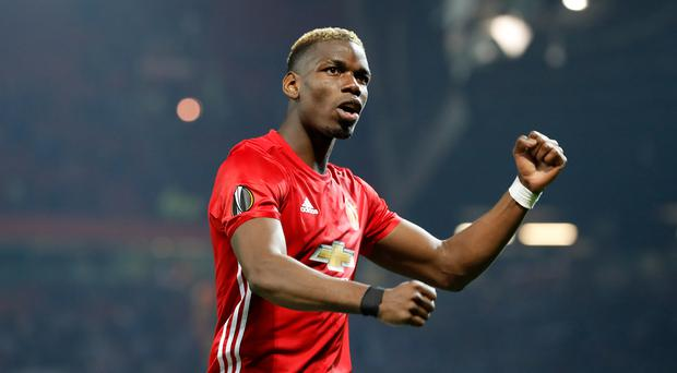 Paul Pogba starts for Manchester United