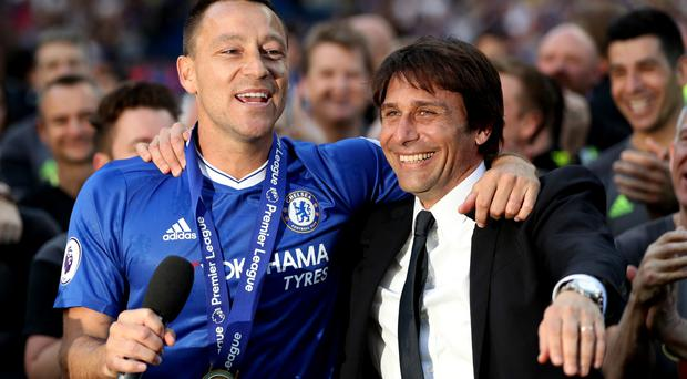 'Most hard  day' for Terry in Stamford Bridge exit