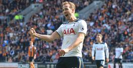 Harry Kane has scored seven goals in two matches