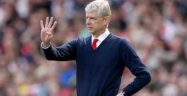 Arsene Wenger would not discuss his future after missing out on the Champions League
