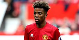 Angel Gomes made his Premier League debut for Manchester United at the age of 16