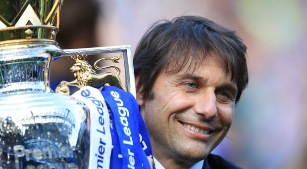 Chelsea manager Antonio Conte won the Premier League in his first season