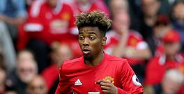 Angel Gomes made his Manchester United debut in the win over Crystal Palace