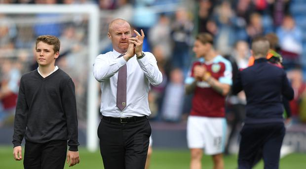 Burnley boss Sean Dyche has already started planning for next season