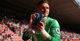 Stoke goalkeeper Jack Butland impressed in their 1-0 victory at Southampton