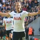 Harry Kane scored a hat-trick on the final day of the 2016-17 Premier League season