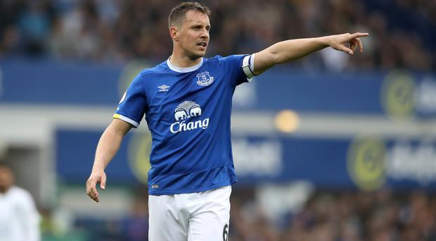 Phil Jagielka, pictured, admits the players will have a point to prove to Everton boss Ronald Koeman in pre-season