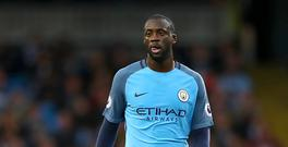 Manchester City midfielder Yaya Toure is out of contract this summer.