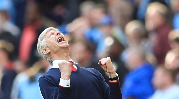 Arsene Wenger's Arsenal take on Chelsea in the FA Cup final on Saturday.