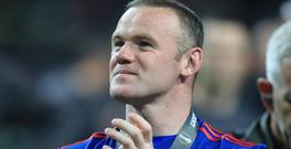 Manchester United's Wayne Rooney has been left out of the England squad to face Scotland and France