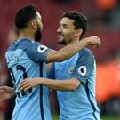 Gael Clichy will leave Manchester City at the end of his contract