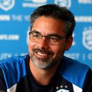 Huddersfield head coach David Wagner hopes to guide his side to the Premier League