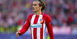 Atletico Madrid's Antoine Griezmann is said to be top of United's summer wish list