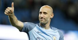 Defender Pablo Zabaleta has signed for West Ham after being released at the end of his contract at Manchester City