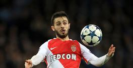 Monaco's Bernardo Silva has joined Manchester City