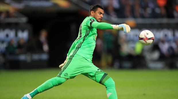 Sergio Romero wants to be Manchester United's number one