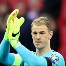 Joe Hart has bid farewell to the Torino fans