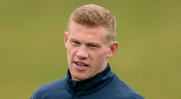 Ireland's James McClean is set to skipper the team on his 50th cap