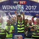 Huddersfield's Championship play-off final success will be worth a minimum of £170million to the club