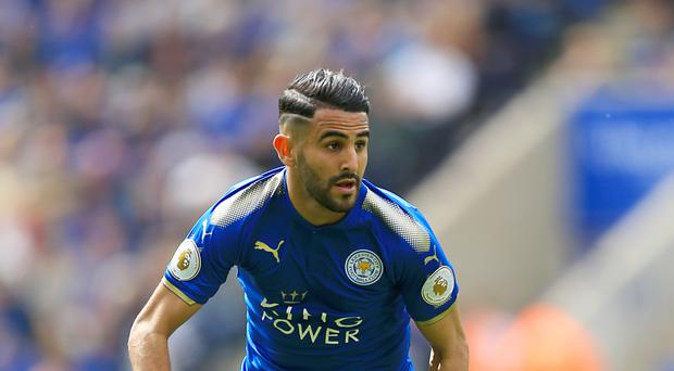 Leicester's Riyad Mahrez scored 17 goals as they won the Premier League last year.