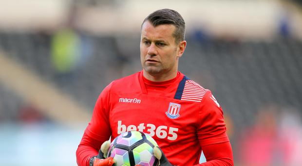 Stoke goalkeeper Shay Given is hoping for one last hurrah