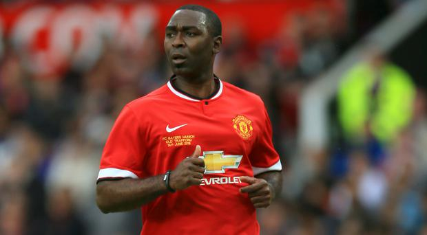 Andrew Cole says his recovery from a kidney transplant is going well