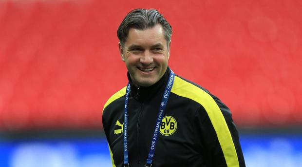 Dortmund sporting director Michael Zorc, pictured, hailed the signing of Maximilian Philipp